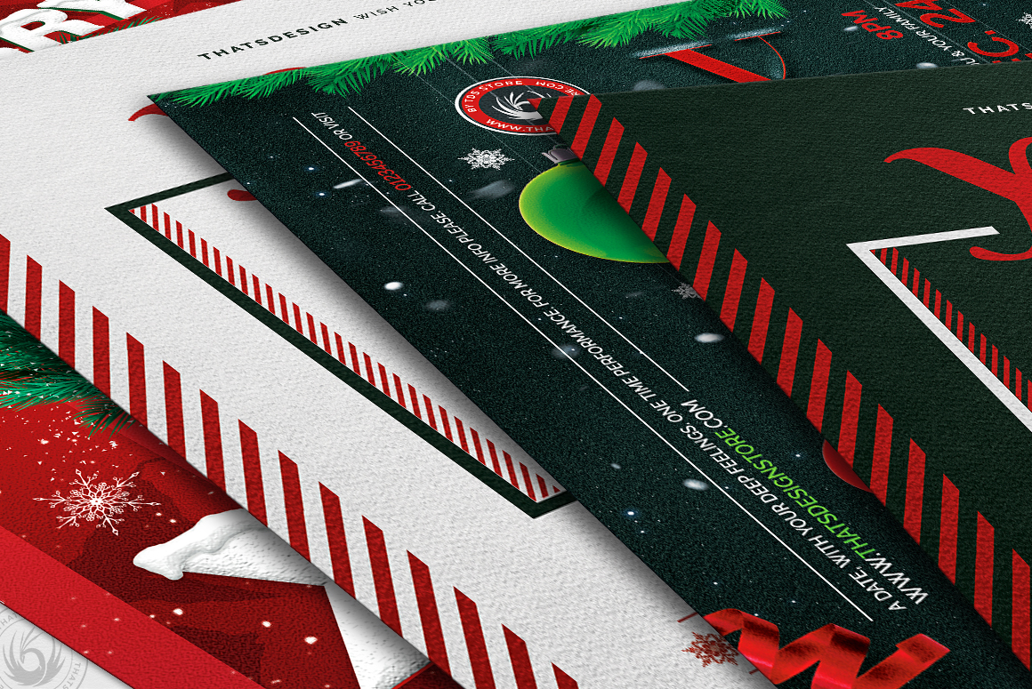 Christmas Eve Flyer Bundle V2 example image 9