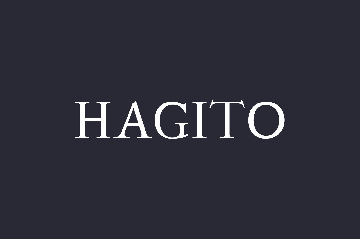 Hagito Serif Font Family example image 1