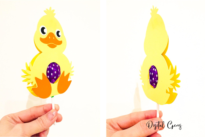 lollipop holder designs. Lamb, Rabbit, Duck and Penguin example image 5