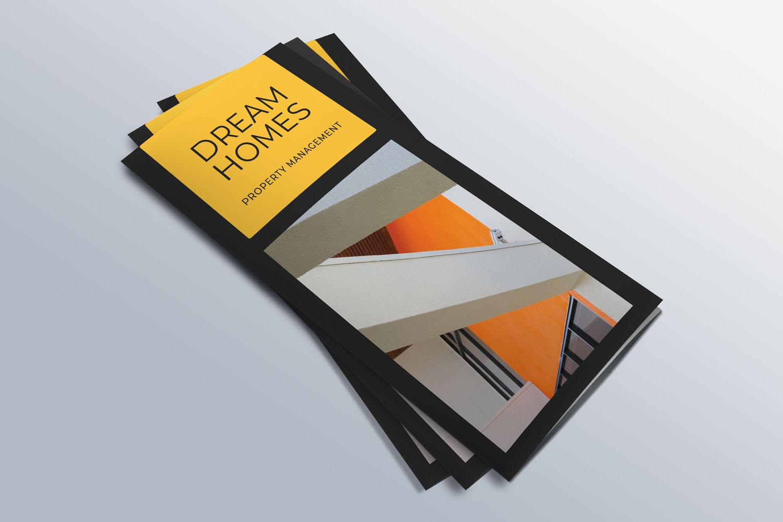 Trifold Real Estate Printable Brochure |Templates PSD/AI A4 example image 4