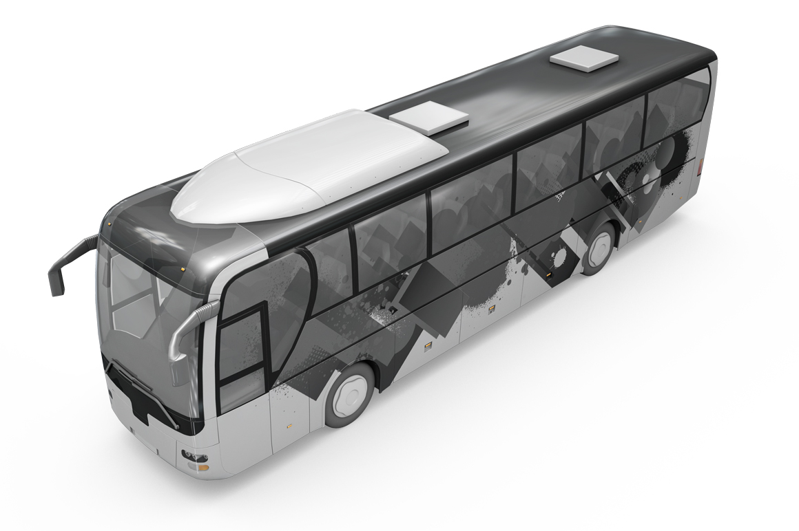 Bus Mockup example image 16