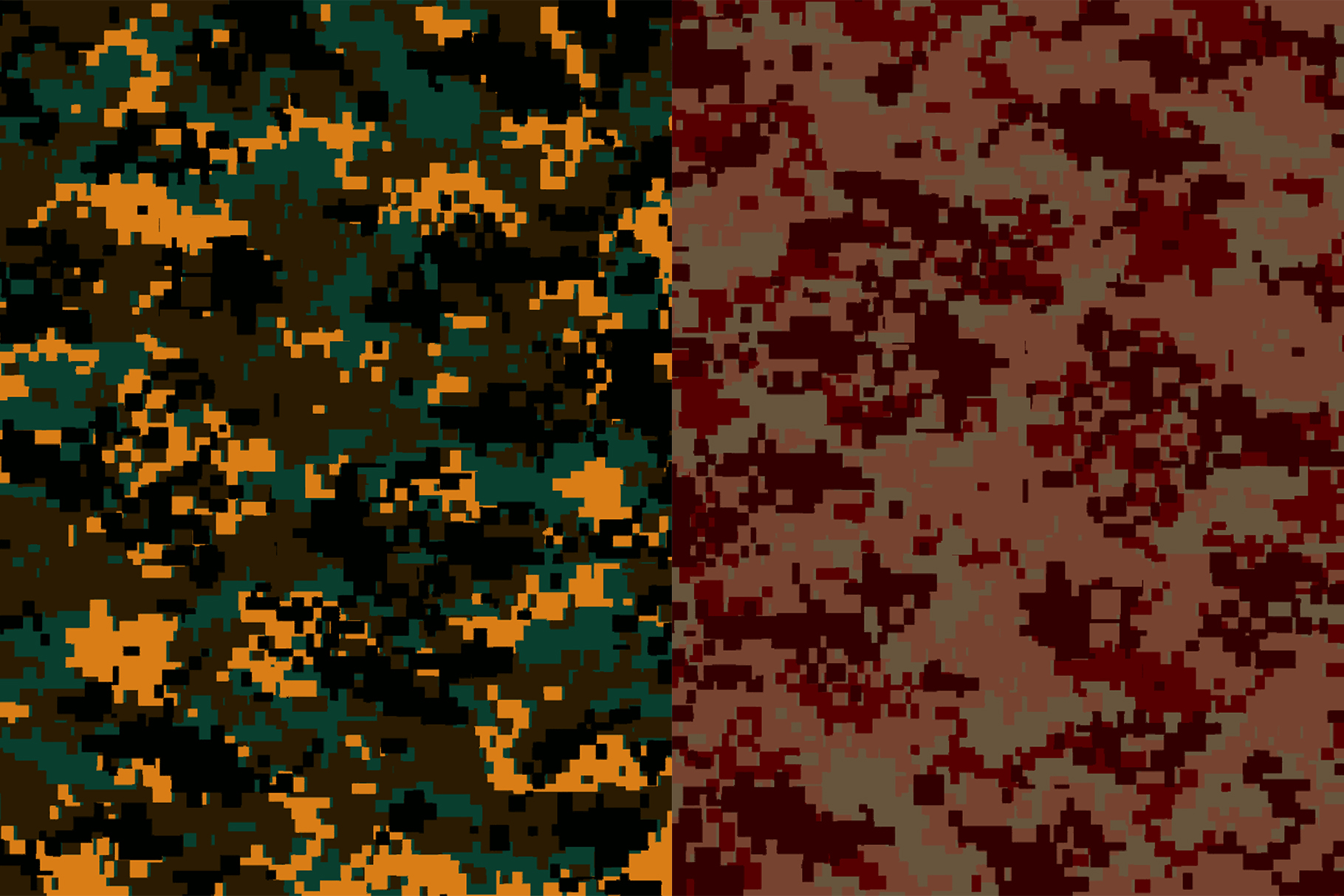 10 Pixel Camouflage Patterns example image 9