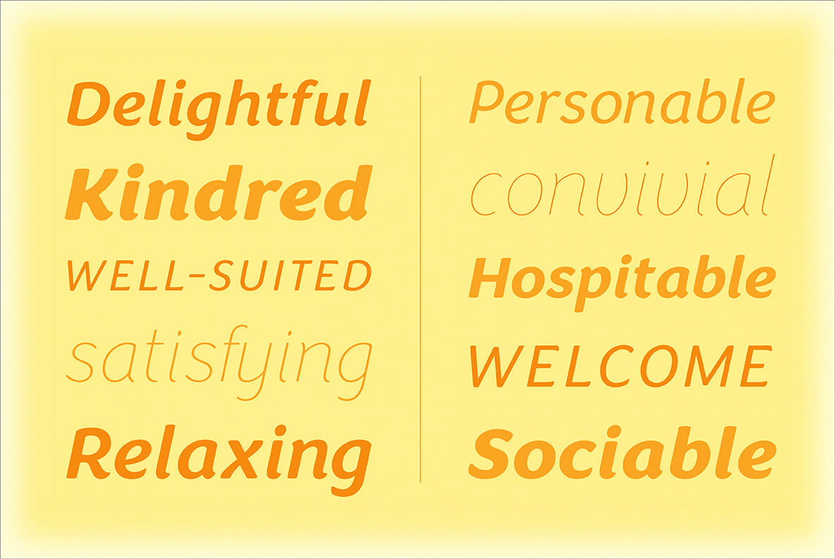 Congenial Italic Extra Light example image 1