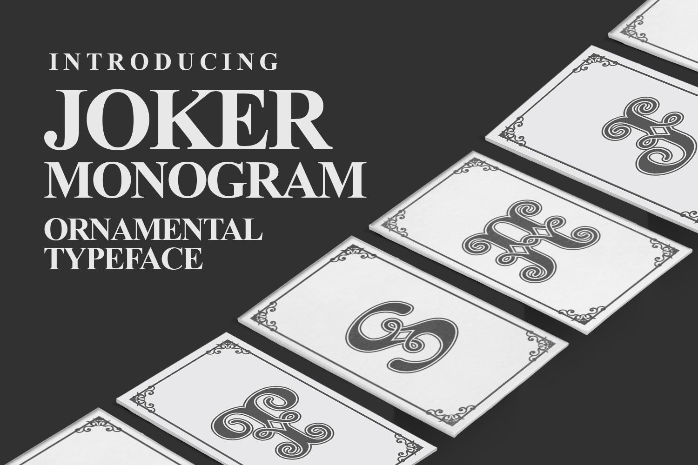 Joker Monogram example image 1