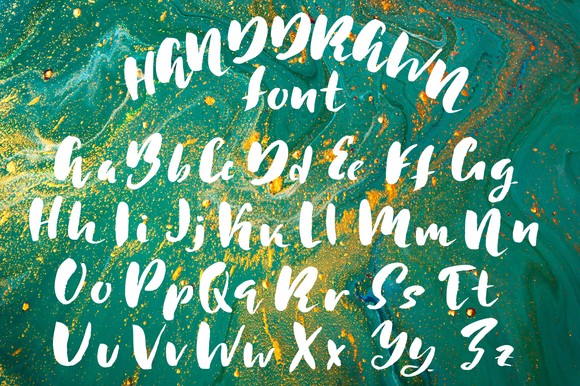 Simple ink font duo example image 2