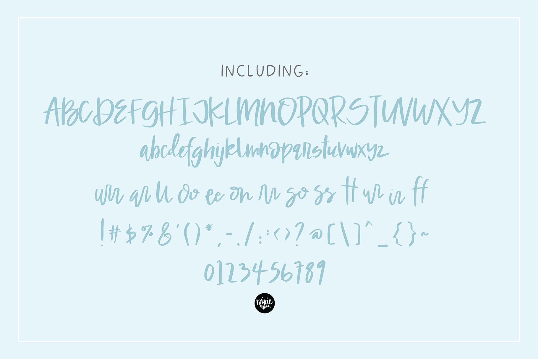 GOLDEN DAYS Signature Script .OTF Font example image 6