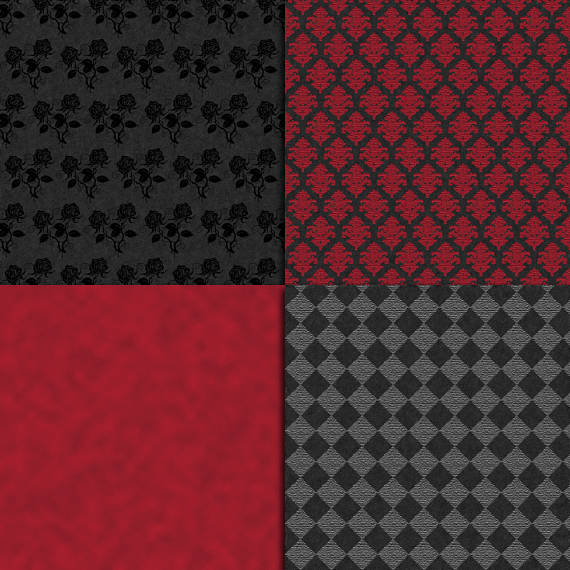 Gothic Digital Paper example image 2