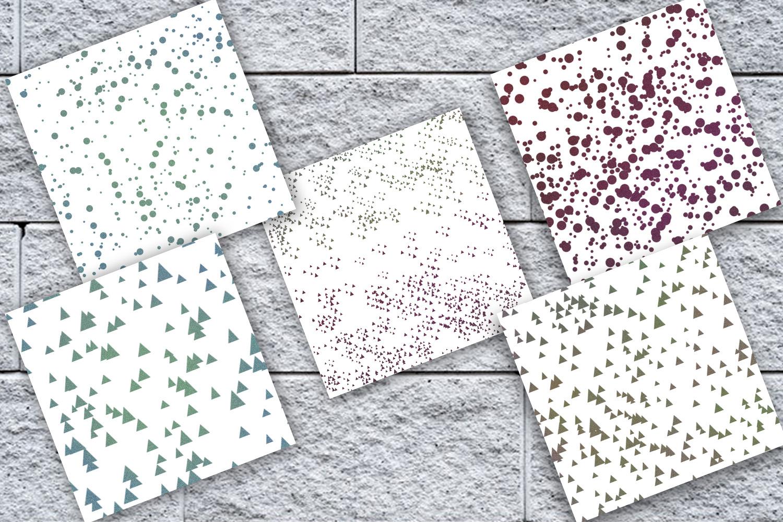 Glitter Confetti Digital Paper, Glitter Confetti, SALE example image 2
