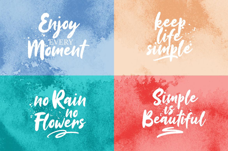 Sinestta Brush Font example image 6