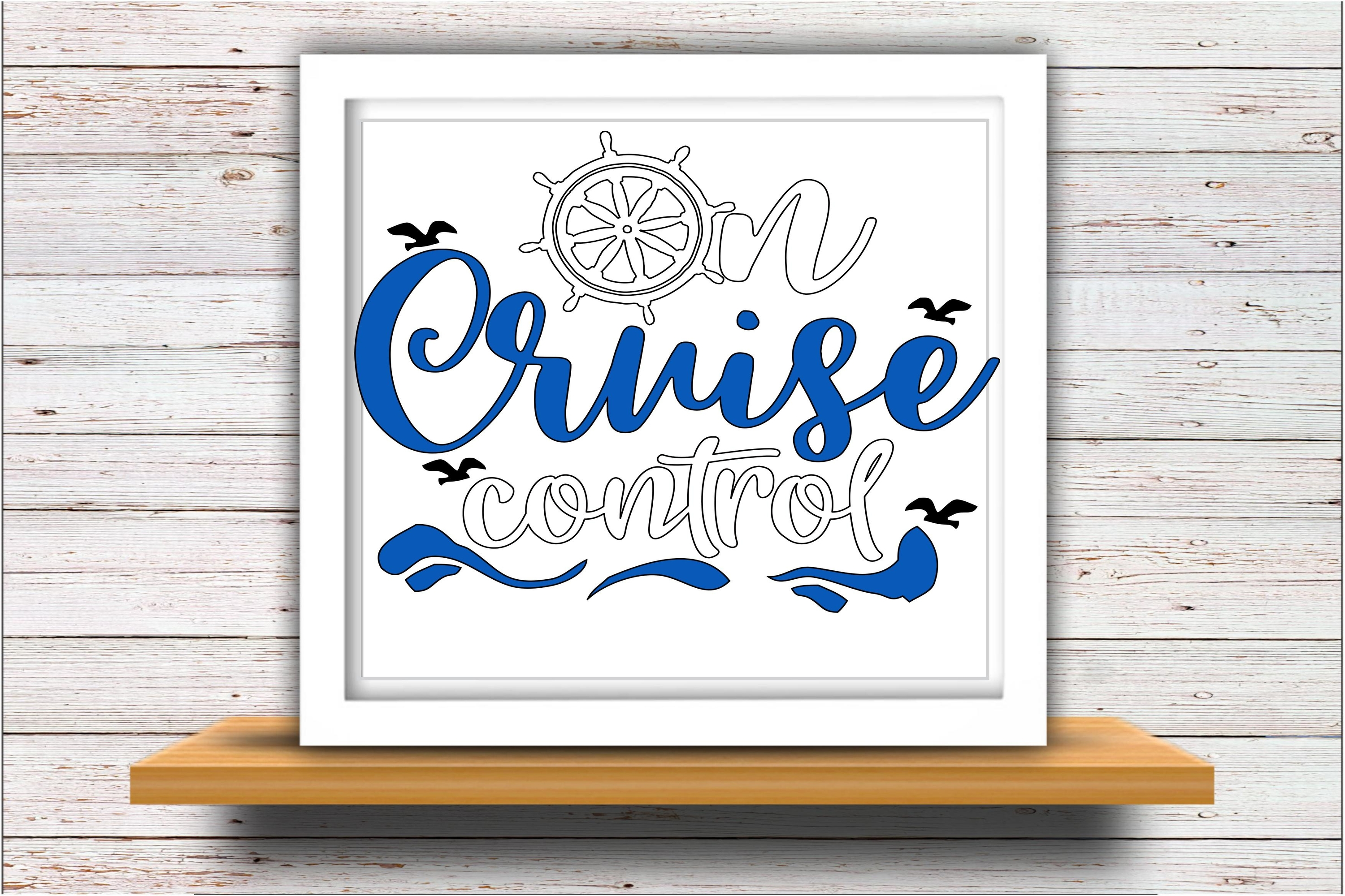 Cruise svg SVG DXF JPEG Silhouette Cameo Cricut control example image 2