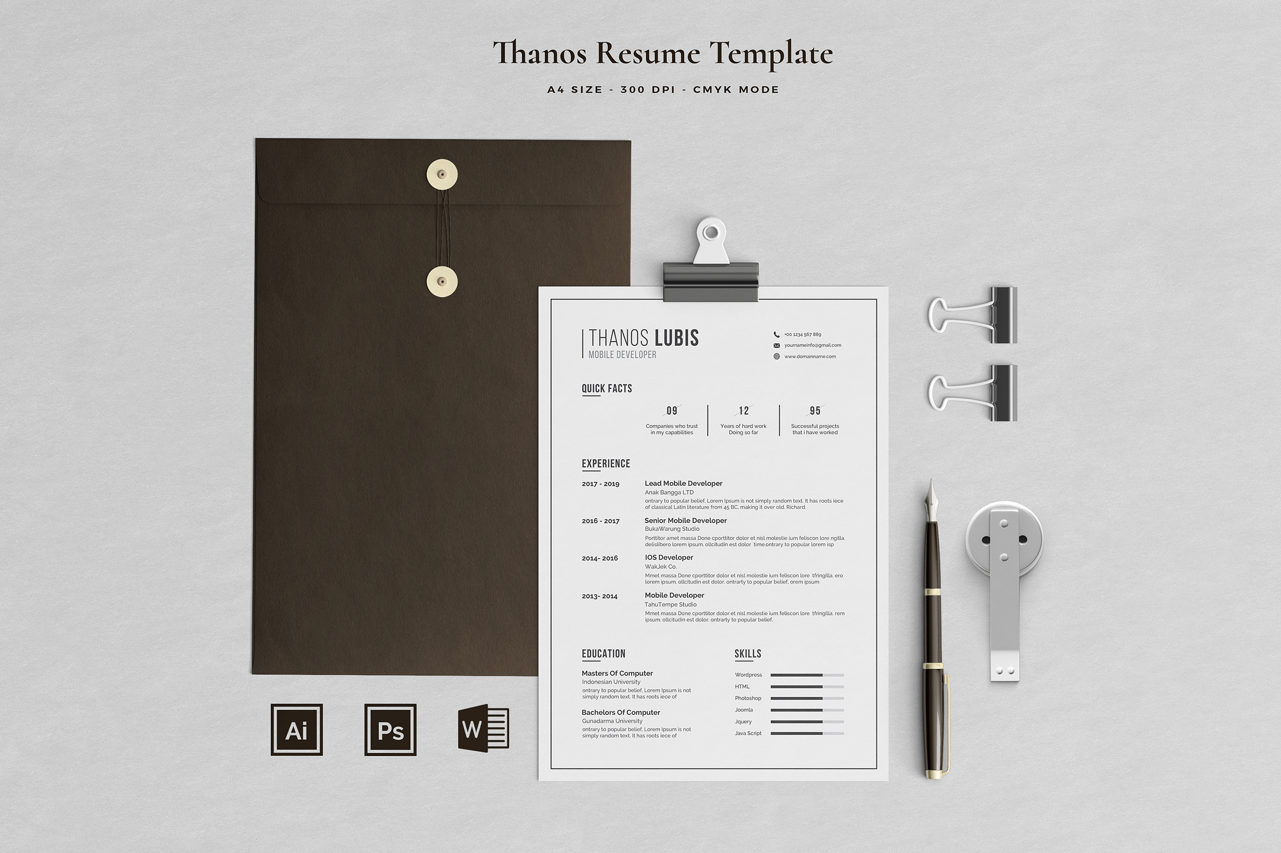 Job Seeker's Resume Bundle example image 16