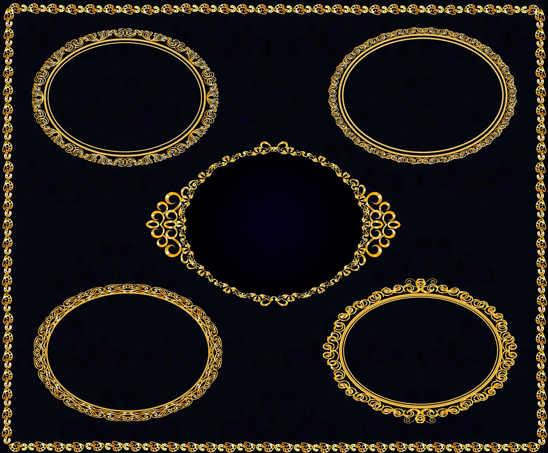 25 golden vintage frames example image 3