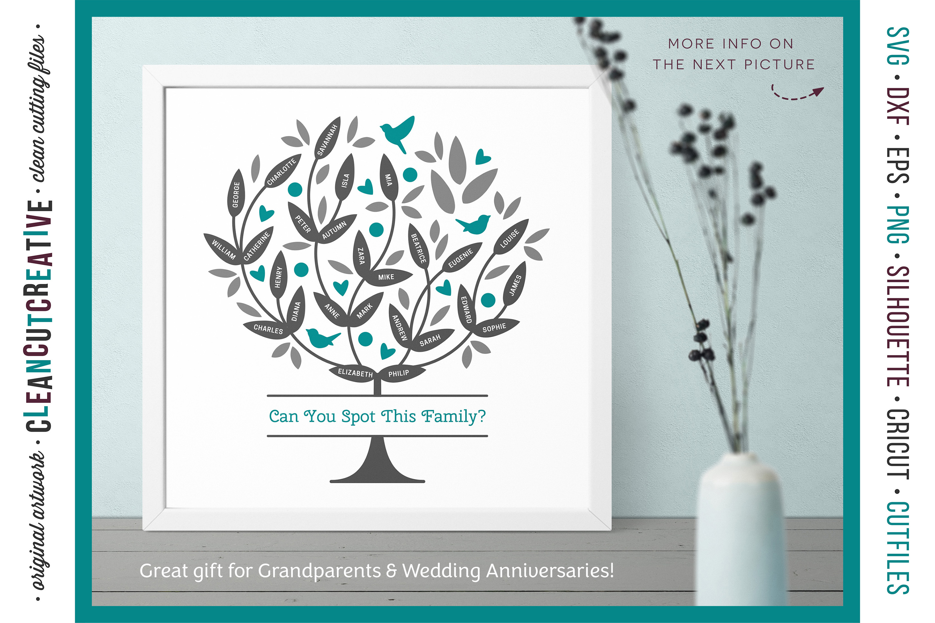 Grow a FAMILY TREE - Photoshop Edition - clipart design set example image 2