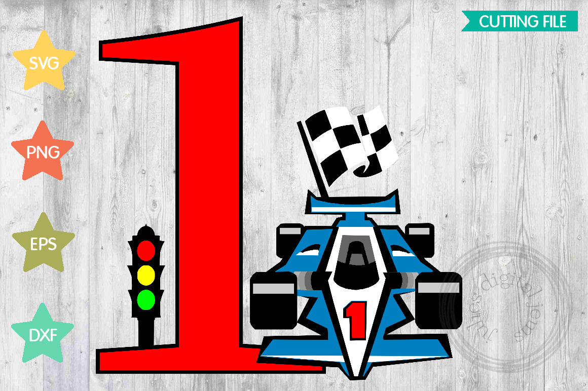 Racing Birthday 1st, by Julies Homemade Jems example image 1