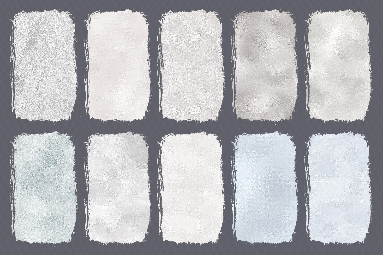10 Diamond Foil Textures - Seamless Metallic Backgrounds example image 12