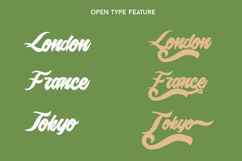 Epidemik Modern Font example image 3
