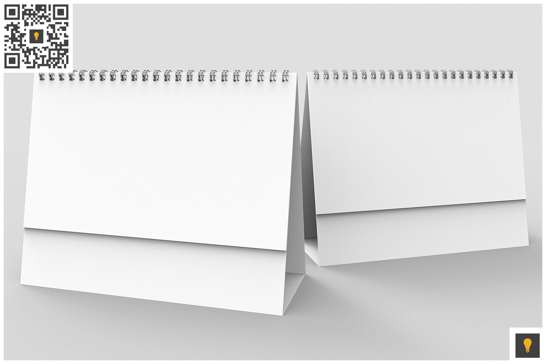 Desktop Calendar 3D Render example image 7