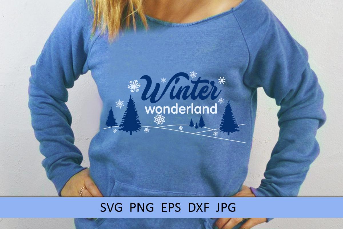 Christmas svg Winter wonderland svg Winter svg Snowflake svg example image 3
