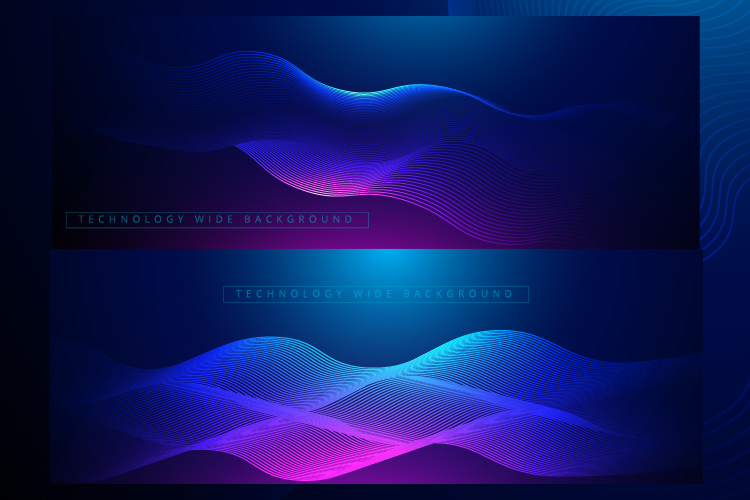 6 IN 1 WIDE SCREEN TECHNOLOGY BACKGROUNDS BUNDLE example image 3
