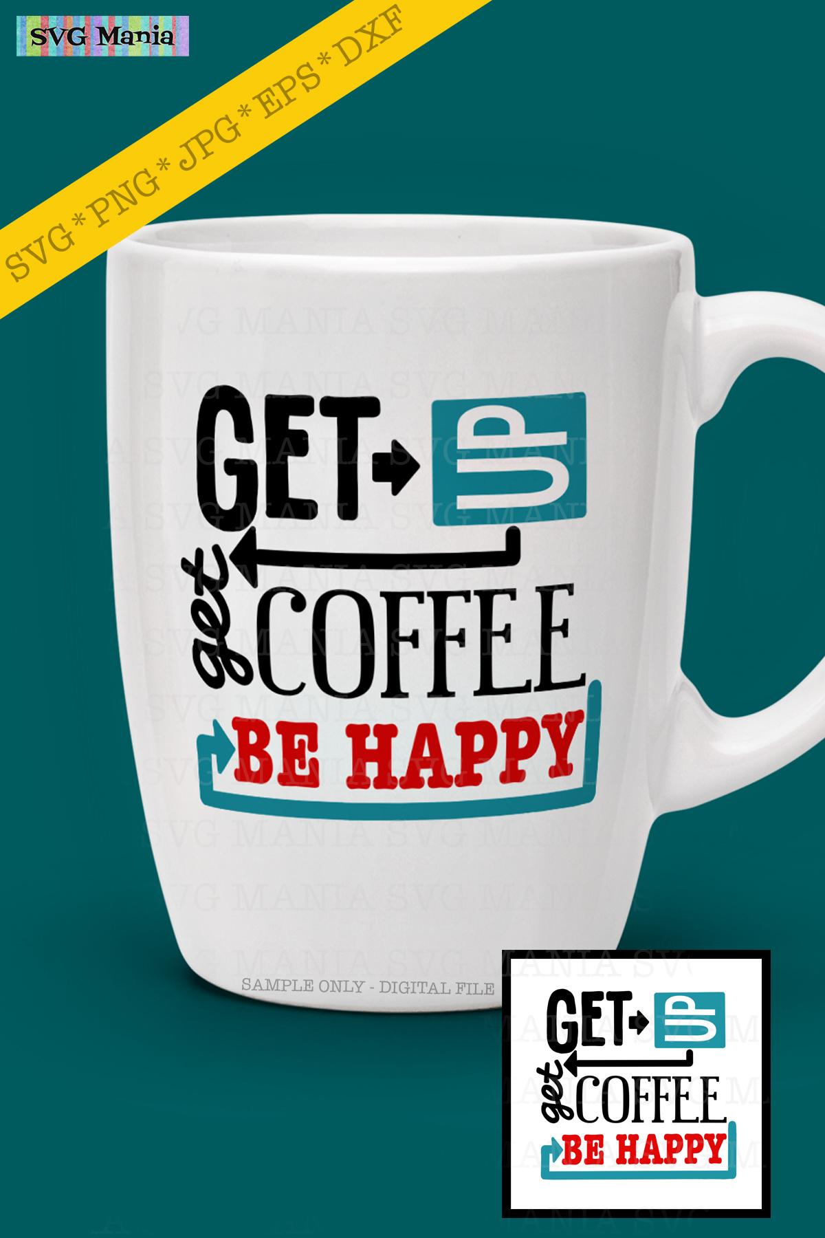 Funny Coffee Mug/Cup SVG File, Coffee Saying SVG, Coffee SVG example image 2