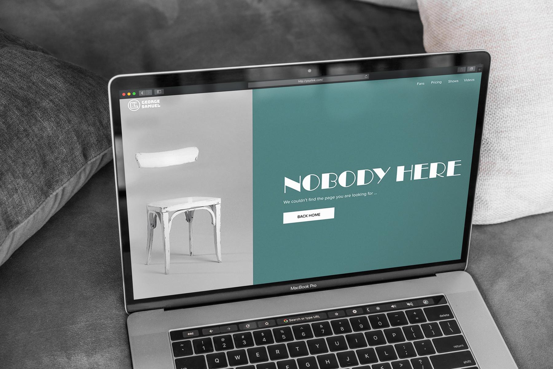 MacBook Pro Mock-Up Loft Style example image 4