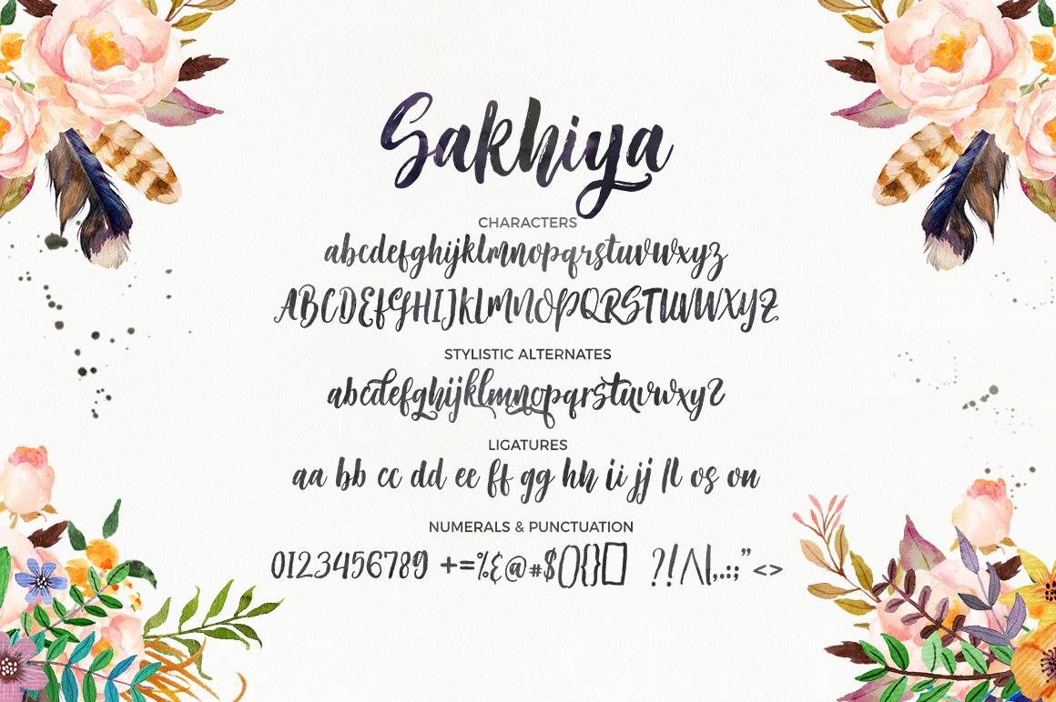 Sakhiya Script example image 8