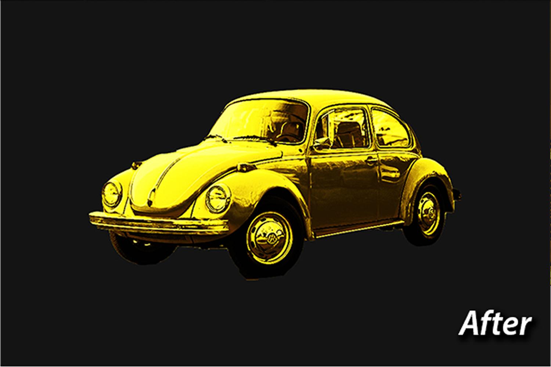 Gold Photo Manupulation Action  example image 14