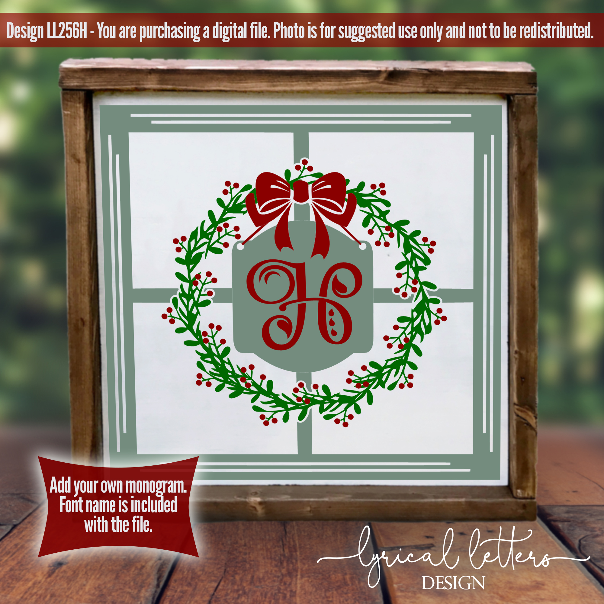 Farmhouse Christmas Bundle of 18 SVG Designs example image 9