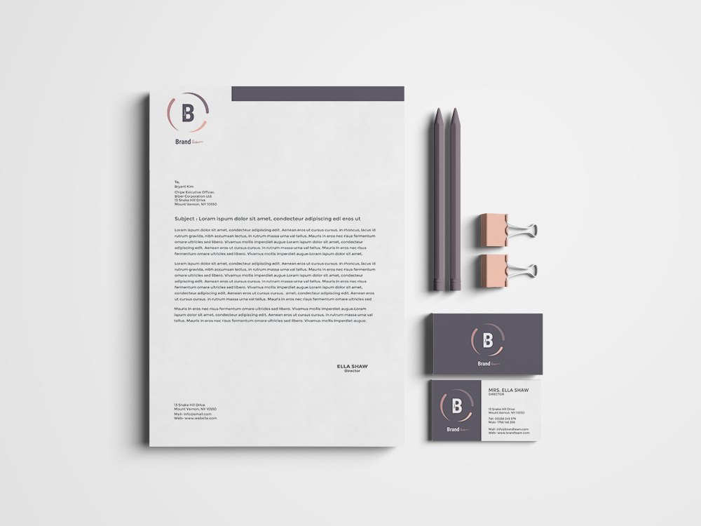 Corporate Identity Pack example image 3