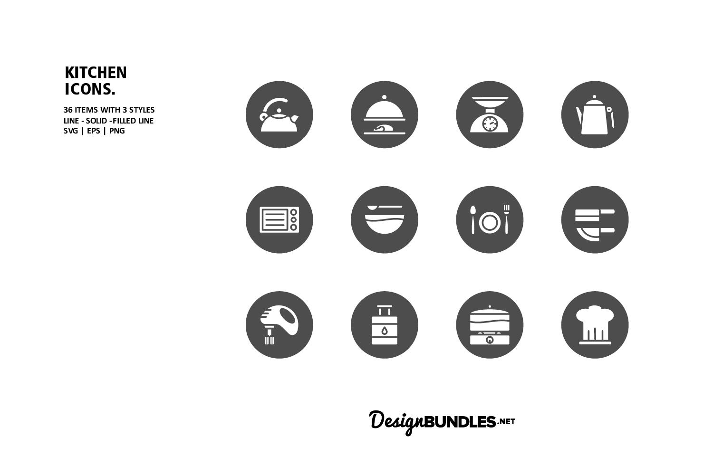 Kitchen Icons example image 3