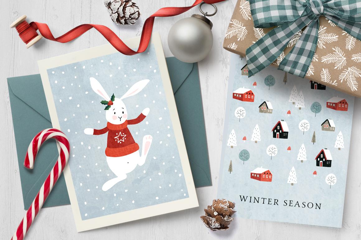 Merry Christmas set, 166 elements example image 3