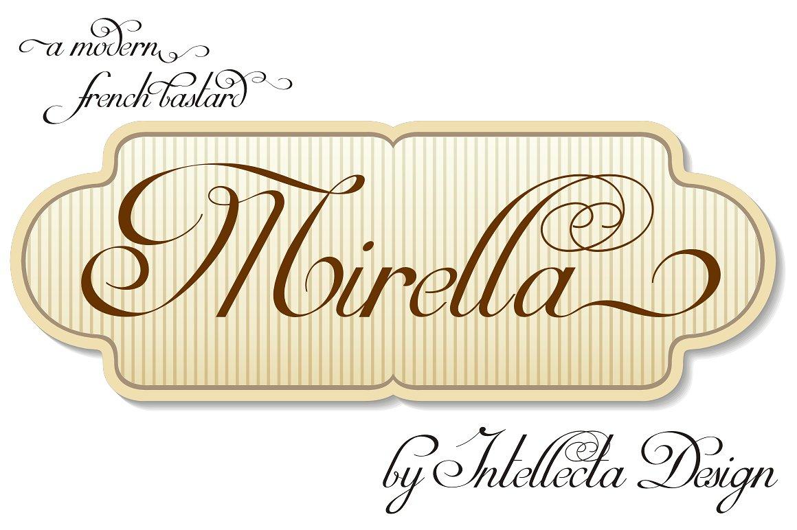 Mirella Script example image 1