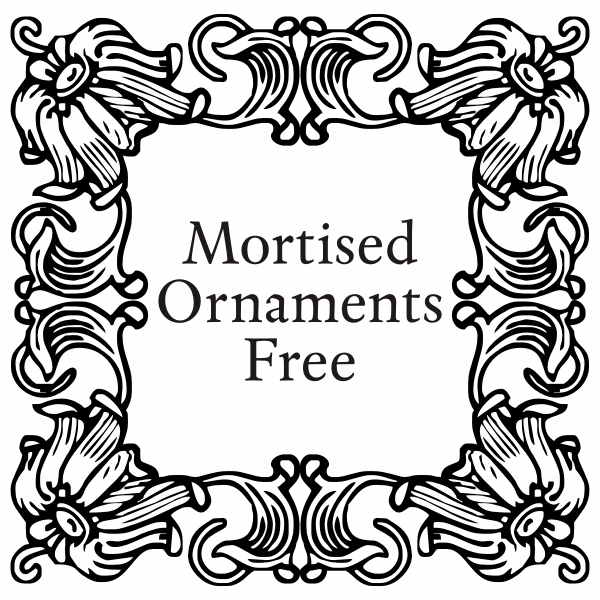 Mirella, Volstead and Mortised Ornaments Licenced pack example image 3