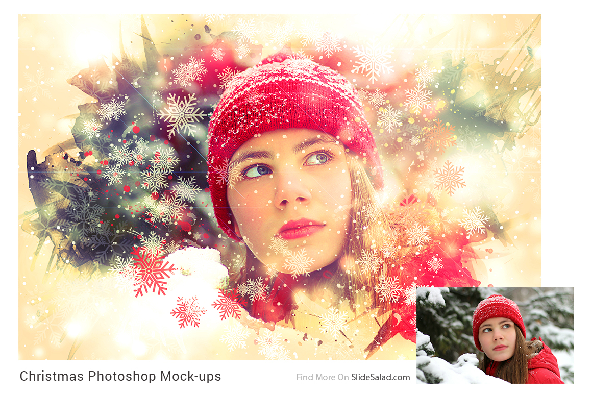 Christmas Photoshop Mock-ups example image 2