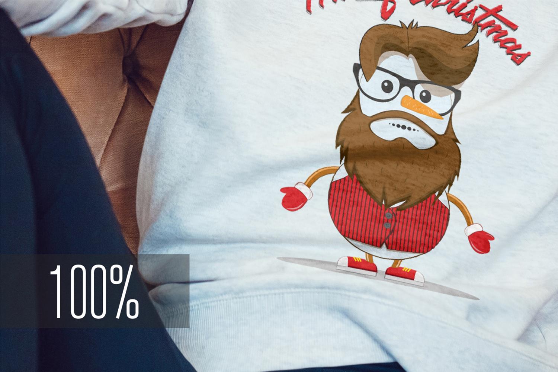 Christmas Sweatshirt Mock-Up example image 4