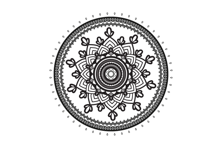 Mandalas. Round forms. example image 5