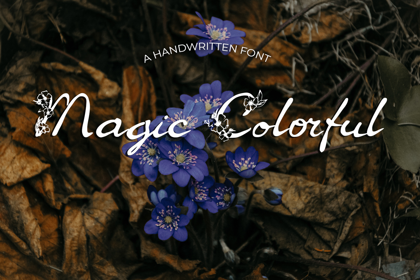 40 Handmade Fonts example image 28