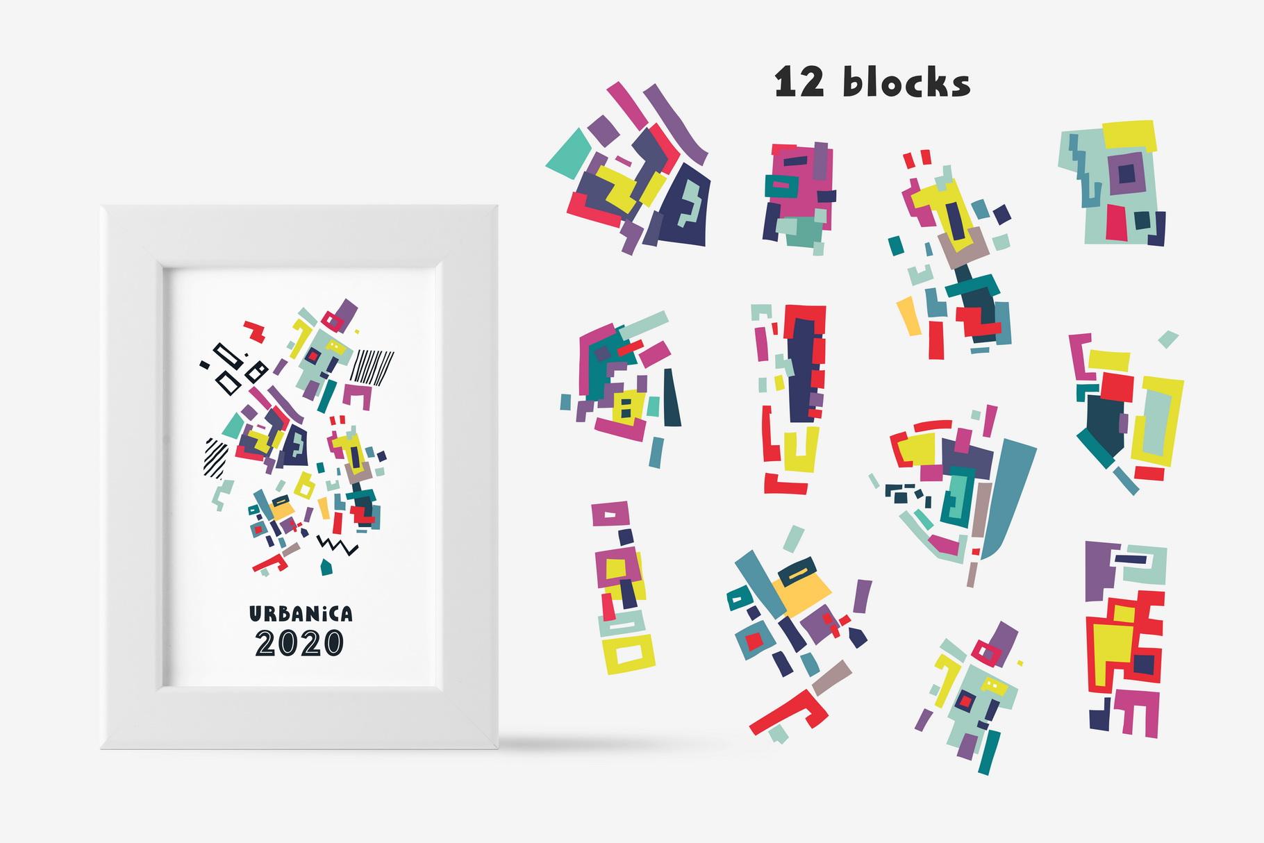 Urban Puzzle - Patterns & Alphabet example image 4