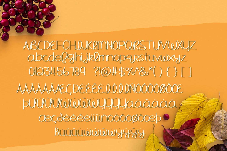Hello Fall - Handwritten Font example image 2