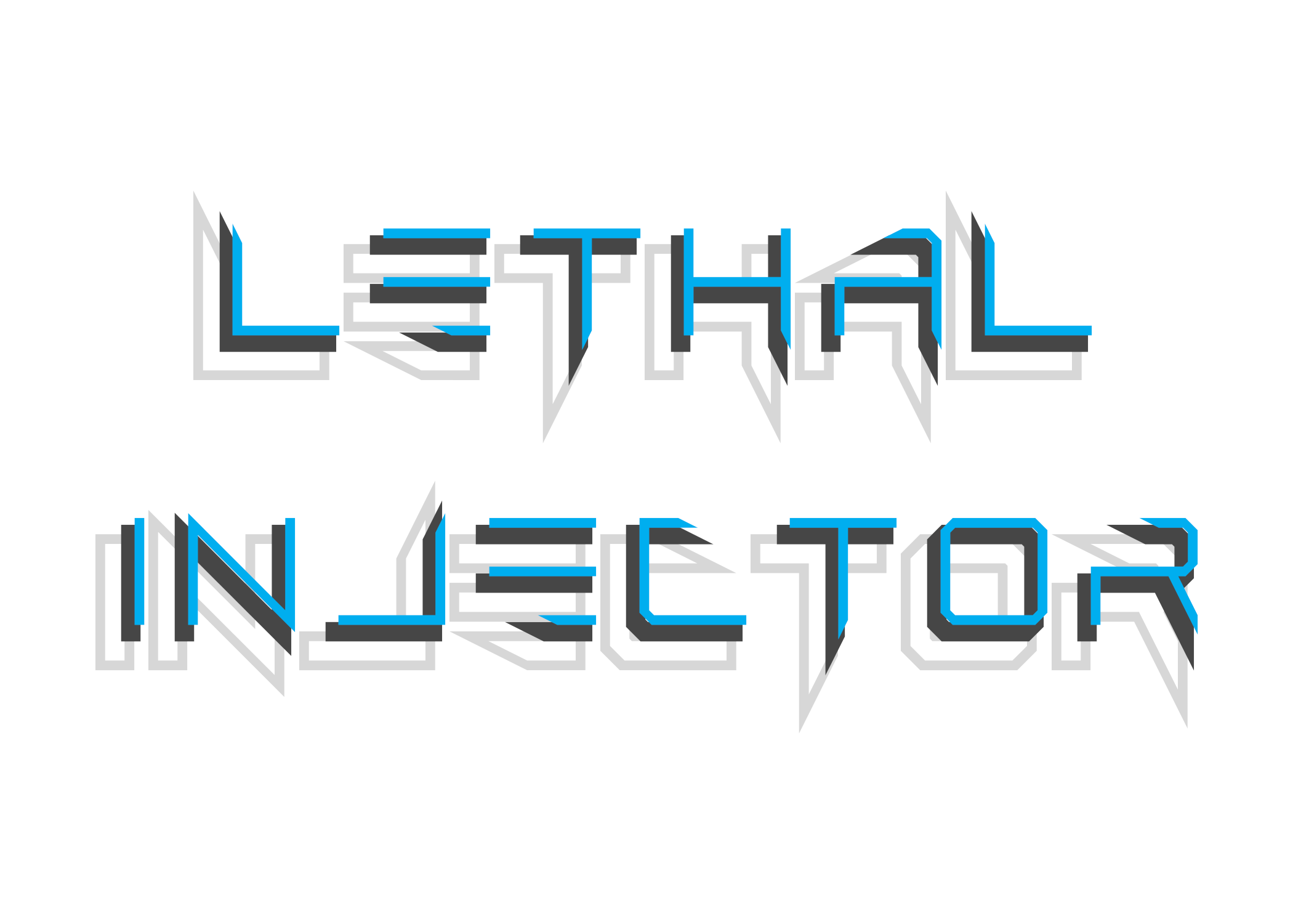 Lethal Injector Layered Typeface example image 3