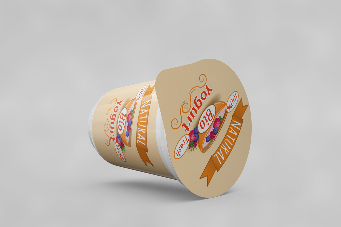 Yogurt Mockup example image 4
