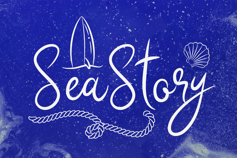 Sea Story + Bonus Doodles example image 1
