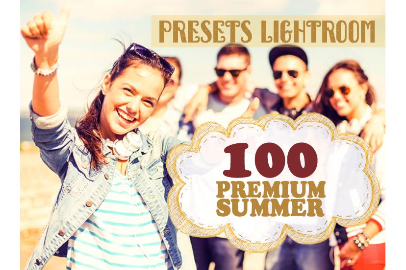 100 Premium Summer Lightroom Preset (Presets for Lightroom 5,6,CC) example image 1