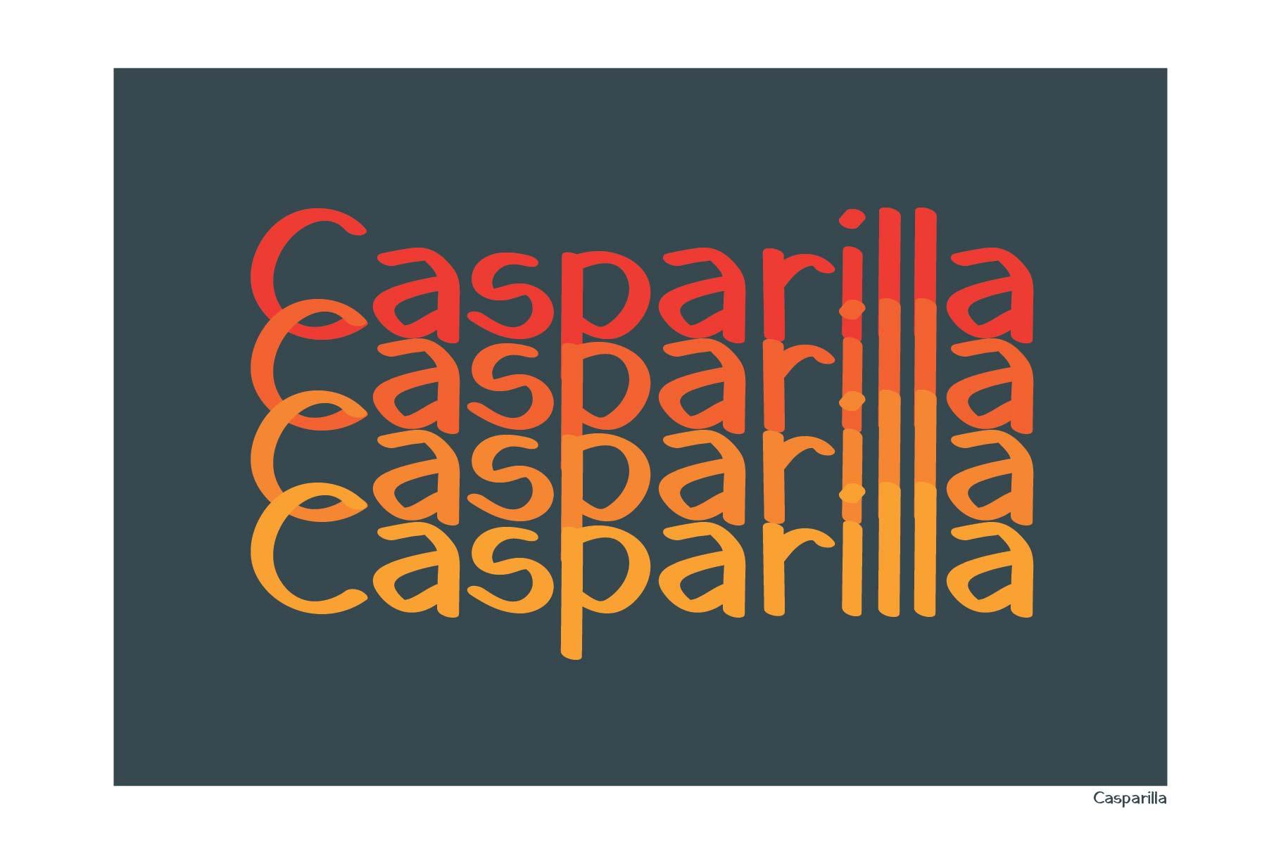 Casparilla Font example image 4