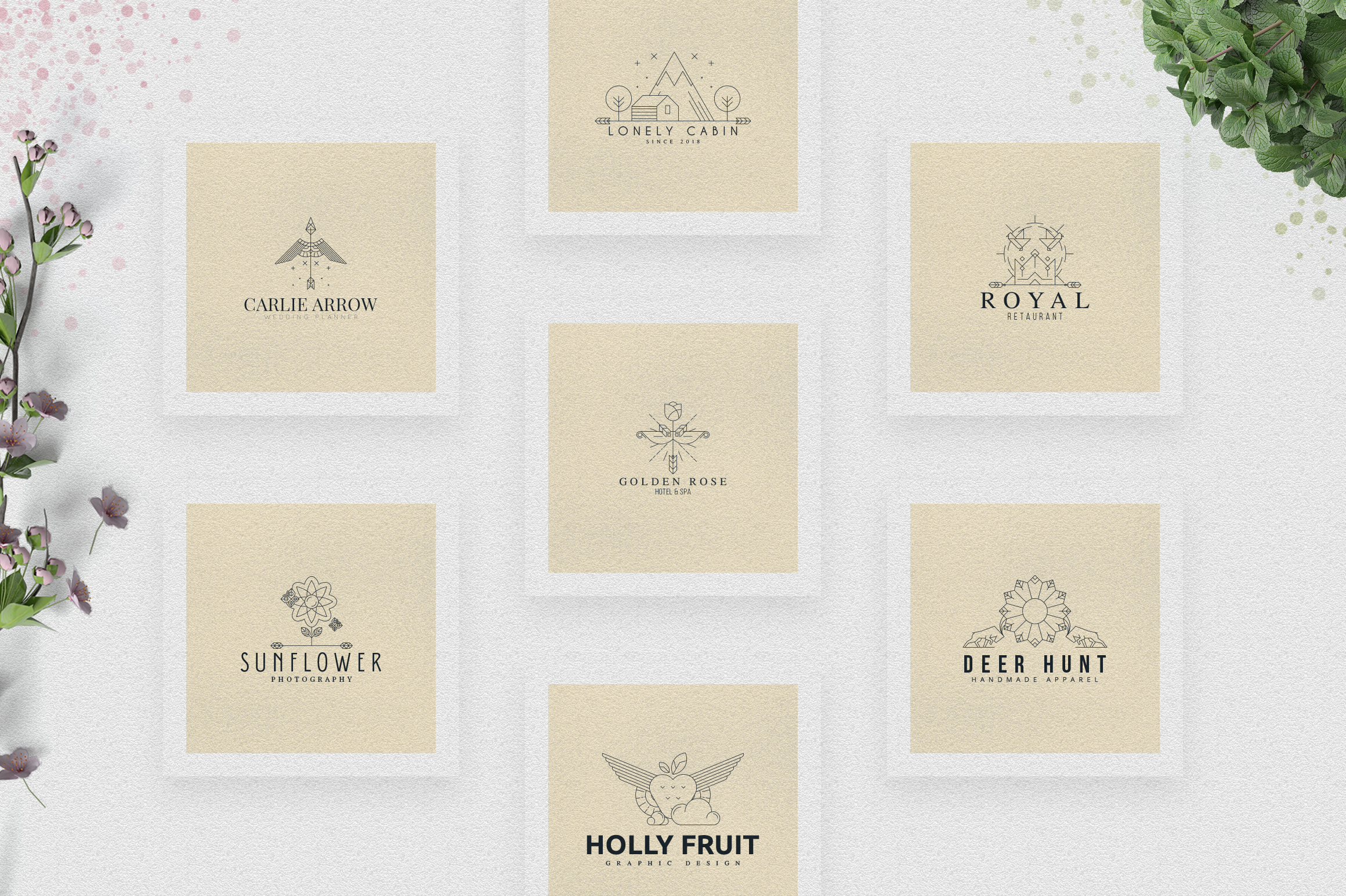 [Spring Vibes] 40 Boutique Logos example image 6