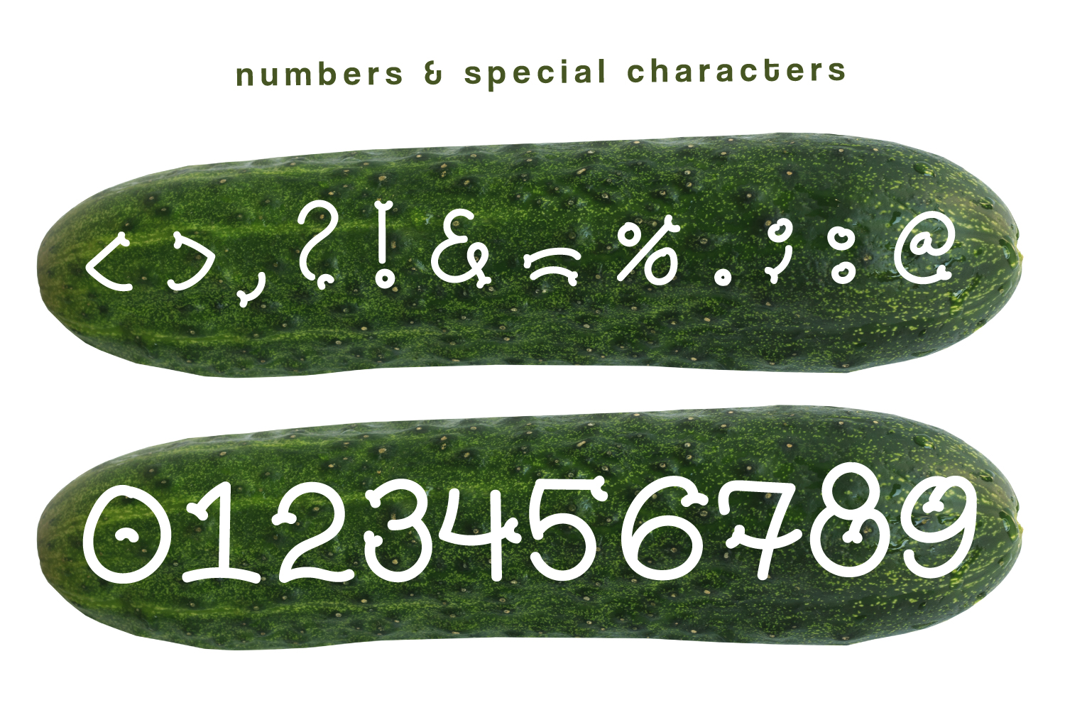 Pickles - Spicy Hand Drawn Font example image 2