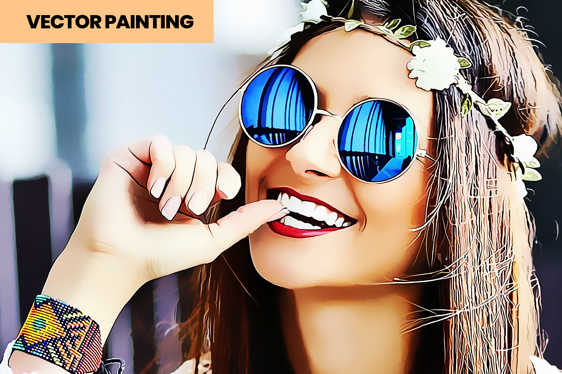 Vector Painting PS Action example image 3