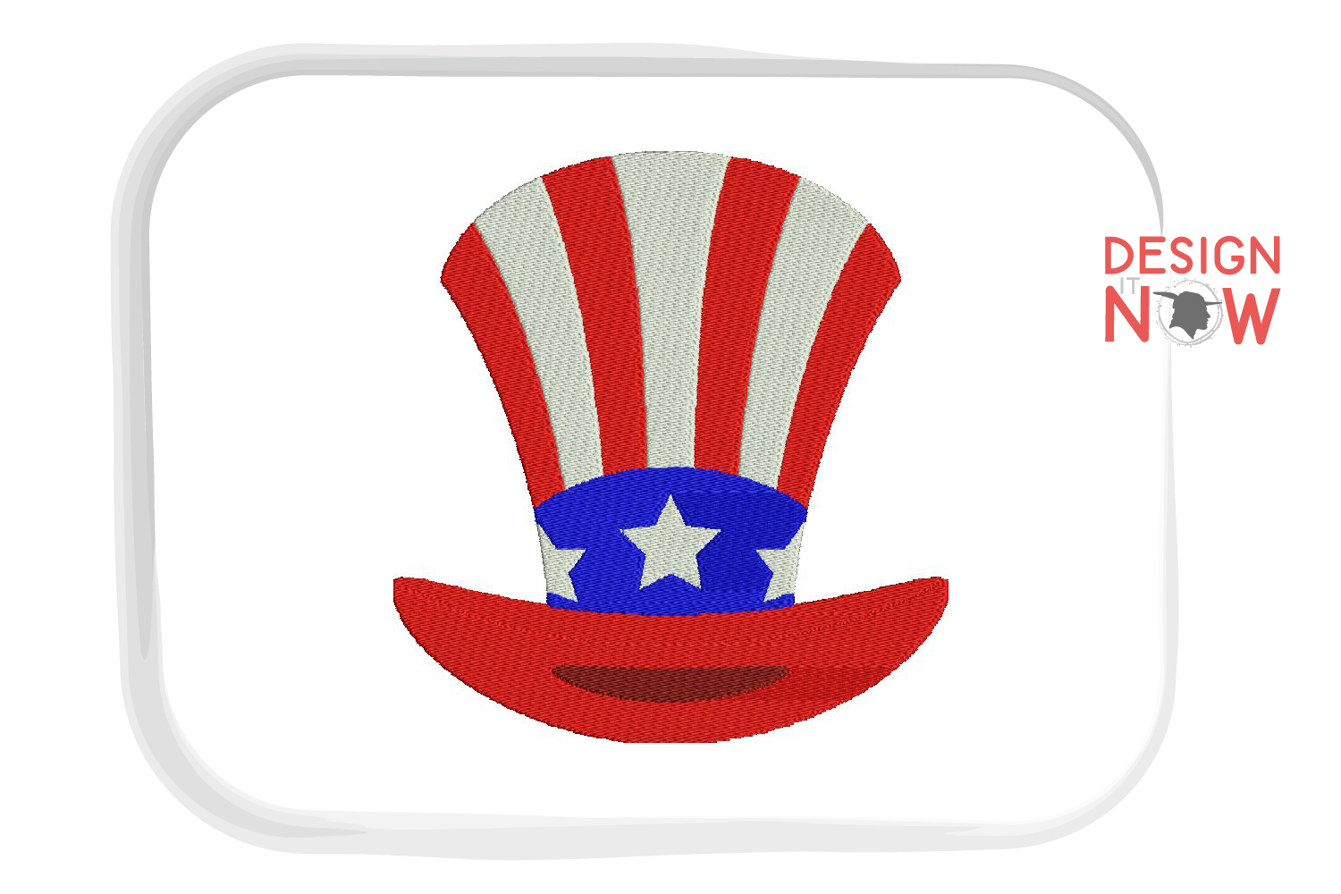 4th Of July Embroidery Design, Independance Day, 4th Of July example image 3