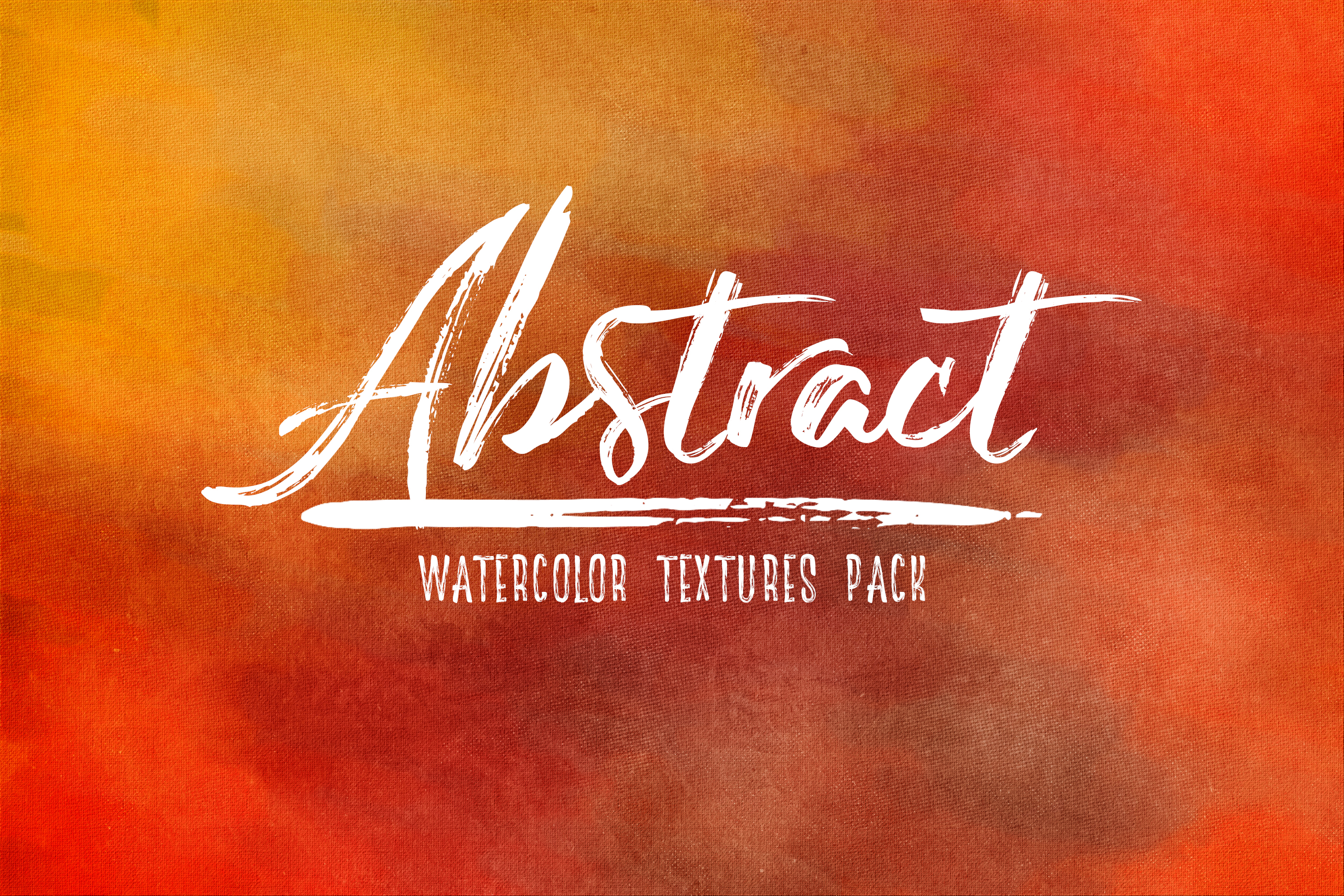 Abstract - Watercolor Textures Pack example image 1
