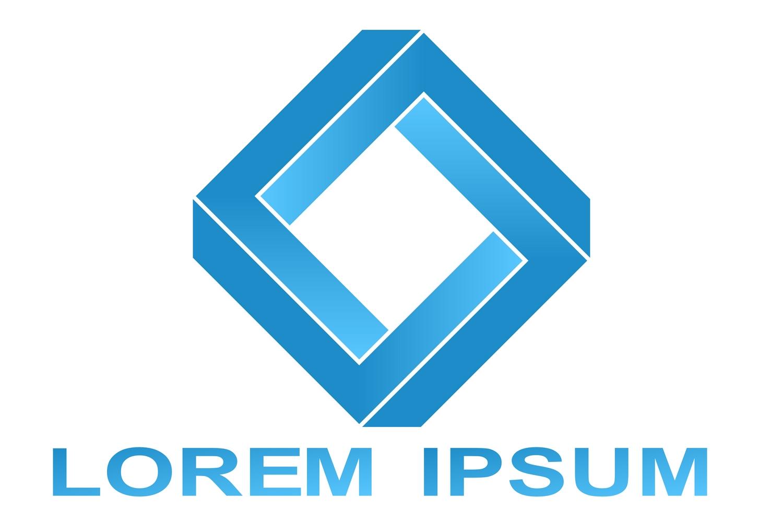20 impossible polygon logo designs (EPS, AI, SVG, JPG 4800x4800) example image 3